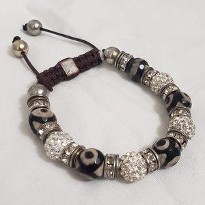🎁Multicoloured Bedazzled &Beaded Women's Bracelet
